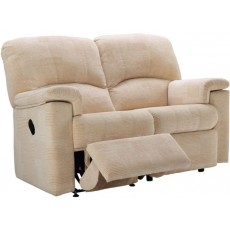 G Plan Chloe  2 Seater Manual Recliner Sofa