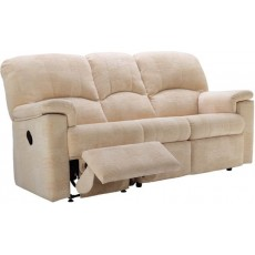 G Plan Chloe  3 Seater Manual Recliner Sofa