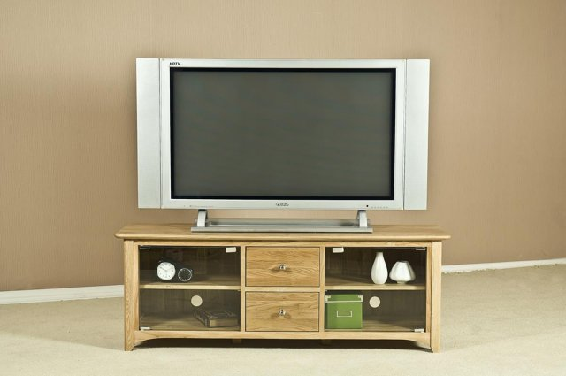 Oxford Large TV Unit with Glass Doors