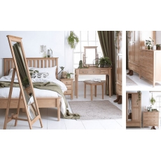 Newton Oak Finish Bedroom Range