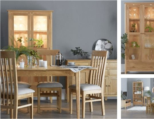 Newton Oak Finish Dining Room and Lounge