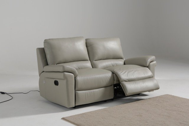 Remarkable Amalfi 2 Seater Manual Recliner Sofa With Lhf Or Rhf Action Machost Co Dining Chair Design Ideas Machostcouk