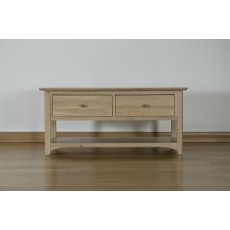 Oxford Coffee Table with 2 Draws