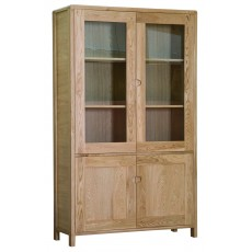 Ercol Bosco Oak Display Cabinet