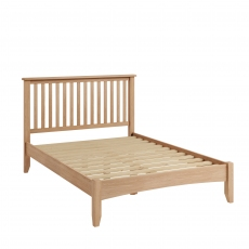 Galmpton Bed Frame in Light Oak Finish