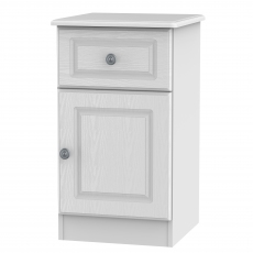 Grasmere 1 Drawer, 1 Door Bedside Chest