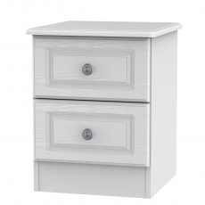 Grasmere 2 Drawer Bedside Chest