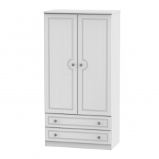 Grasmere Standard Wide 2 Drawer Robe