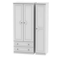 Grasmere Standard 2 Drawer Triple Robe