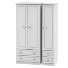 Grasmere Standard 4 Drawer Triple Robe