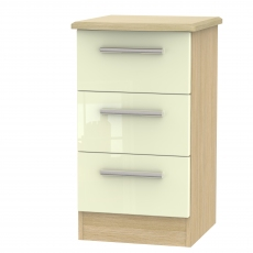 Mayfair 3 Drawer Bedside Chest
