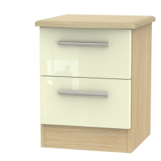 Mayfair 2 Drawer Bedside Chest