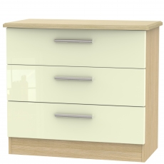 Mayfair 3 Drawer Chest
