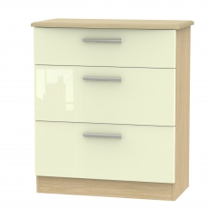 Mayfair 3 Drawer Deep Chest