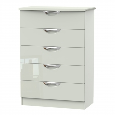 Derwent 5 Drawer Wide Chest