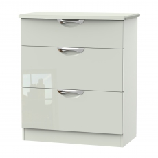 Derwent 3 Deep Drawer Wide Chest