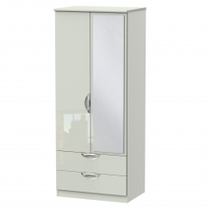 Derwent Standard 2 Drawer Mirrored Robe