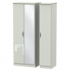 Derwent Tall Mirrored Triple Robe