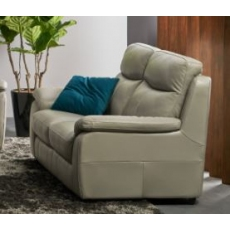 Hampton Leather Power Recliner 2 Seater Sofa