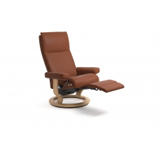 Stressless Aura Single or Dual Motor Power Recliner Chair