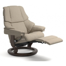 Stressless Reno Single or Dual Motor Power Recliner Chair