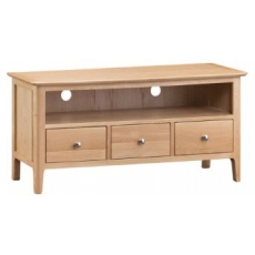 Newton Oak Finish Large TV Unit