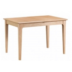 Newton Oak Finish 1.2m Butterfly Extending Dining Table