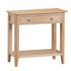 Newton Oak Finish Console Table