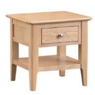 Newton Oak Finish Lamp Table