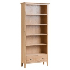 Newton Oak Finish Large Bookcase