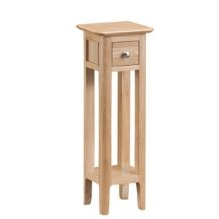 Newton Oak Finish Plant Stand