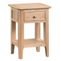 Newton Oak Finish Side Table