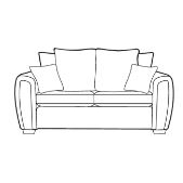 Alstons Memphis 3 Seater Sofa (Pillow Back)