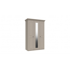 Hadleigh 3 Door Wardrobe with Mirror