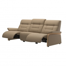 Stressless Mary 3 Seater Sofa with 2 Power Recliner Actions