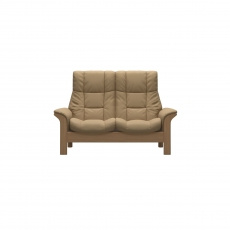 Stressless Windsor High Back 2 Seater Manual Recliner Sofa