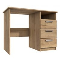 Waterfall 3 Drawer Dressing Table