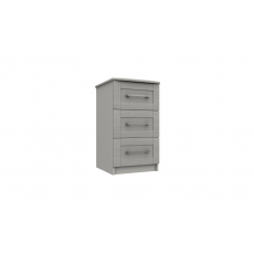 Nashville 3 Drawer Bedside Chest