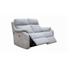 G Plan Kingsbury 2 Seater Power Recliner Sofa with Adjustable Headrest and Lumbar Support with USB