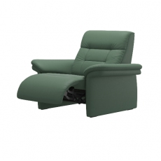 Stressless Mary Power Recliner Chair with Upholstered Arm