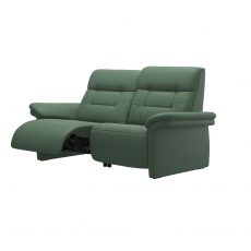 Stressless Mary 2 Seater Power Recliner Sofa with Upholstered Arms