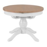 Topsham Round Extending Dining Table