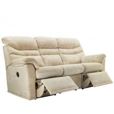 G Plan Malvern 3 Seater  Manual Recliner Sofa