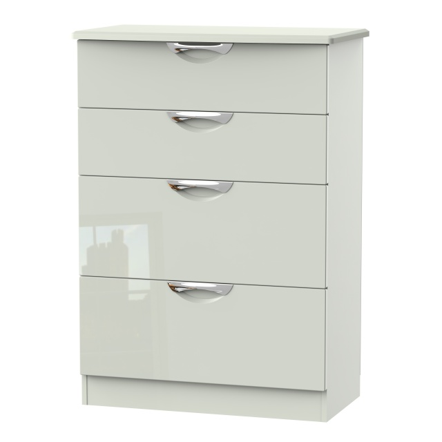 Derwent 4 Deep Drawer Wide Chest