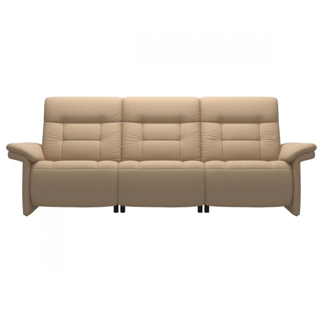 Stressless Mary 3 Seater Sofa with Upholstered Arms