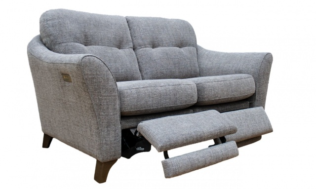 G Plan Hatton 2 Seater Sofa with Power Footrest
