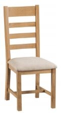 Cotleigh Ladder Back Dining Chair (Pair of Chairs)