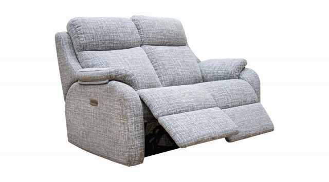 G Plan Kingsbury 2 Seater Power Recliner Sofa with USB