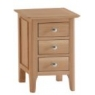 Newton Natural Oak Finish Small Bedside Chest