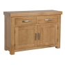 Contemporary Oak Small Sideboard